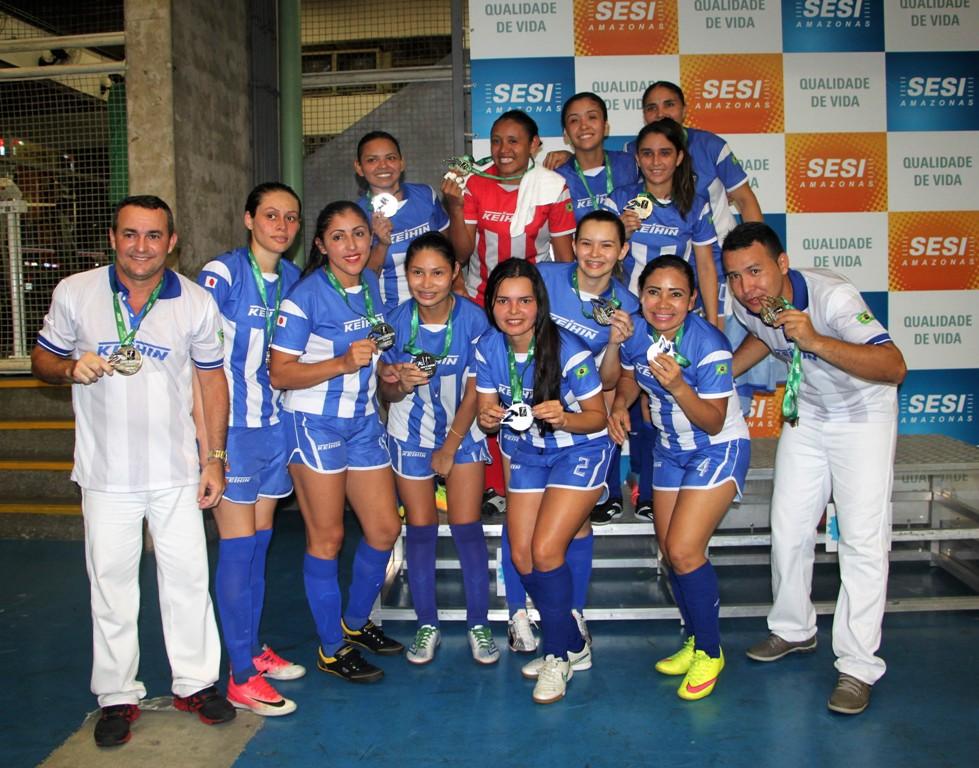 917ff37123 As partidas foram arbitradas pela Associação de Árbitros de Futsal do Estado  do Amazonas e acompanhadas pela equipe técnica do SESI Amazonas.